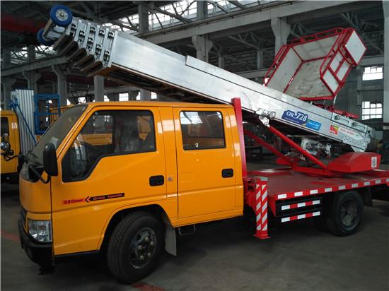 江铃双排【28米】云梯搬家作业车