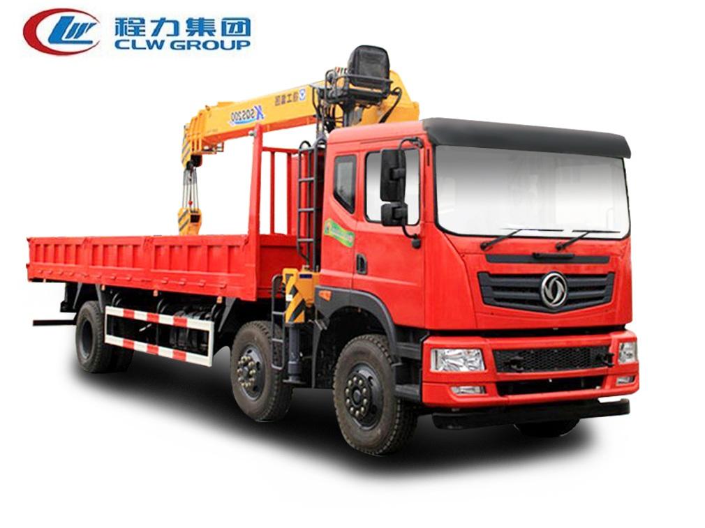东风T5小三轴【10-12吨】随车吊