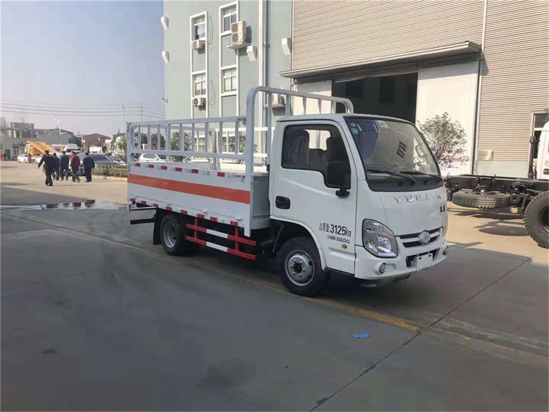 【安全达标】【国六】跃进【汽油版】气瓶运输车【货厢3.36米 蓝牌】