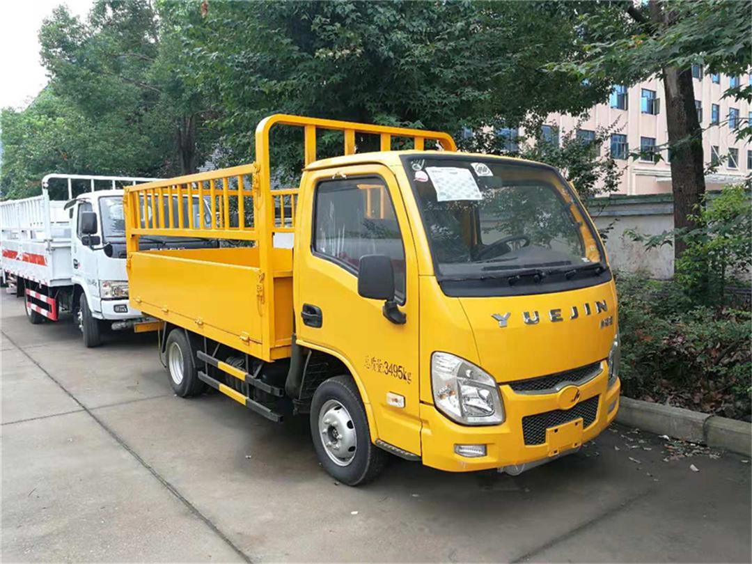 【安全达标】跃进【柴油版】气瓶运输车【货厢3.36米 蓝牌】