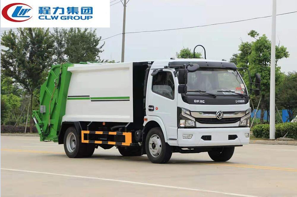 【国六】东风大多利卡D7【8立方】压缩式垃圾车
