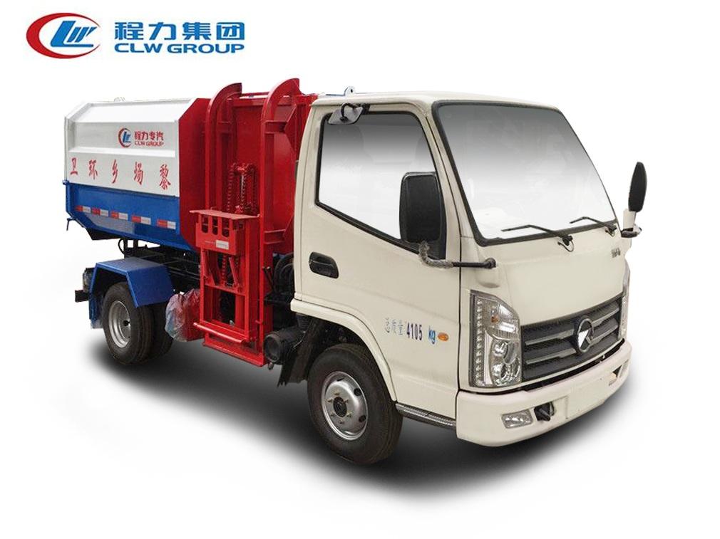 凯马【3立方】挂桶式垃圾车