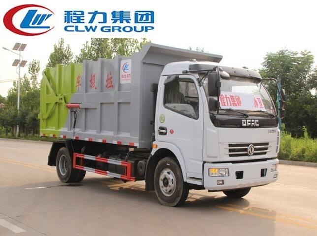 东风大多利卡D7【8立方】对接式垃圾车