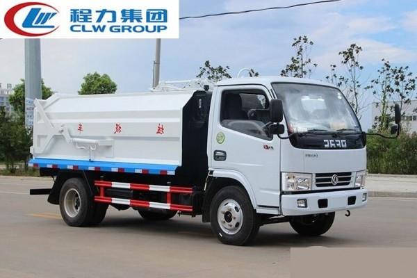 东风小多利卡D6【5立方】侧装对接式垃圾车