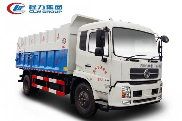 东风天锦【12-15立方】对接垃圾车