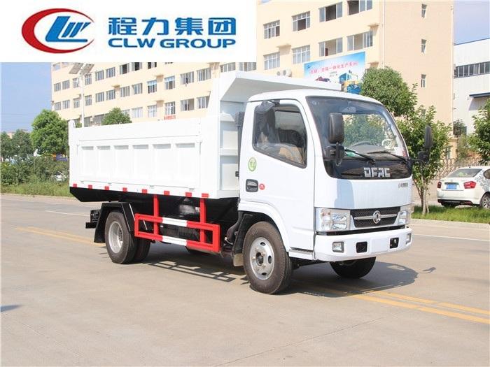 东风小多利卡D6【5立方】自卸式垃圾车