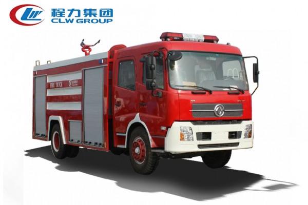 东风天锦水/泡沫【8立方】消防车