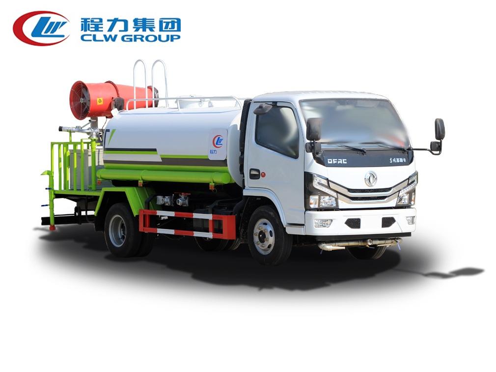 【国六】东风多利卡D6圆罐【5吨】抑尘雾炮车
