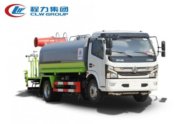 【国六】东风多利卡D7圆罐【8吨】抑尘雾炮车
