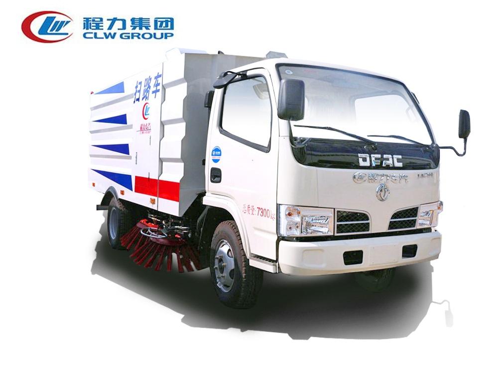 东风小多利卡D6【1.5方水 4方尘】扫路车