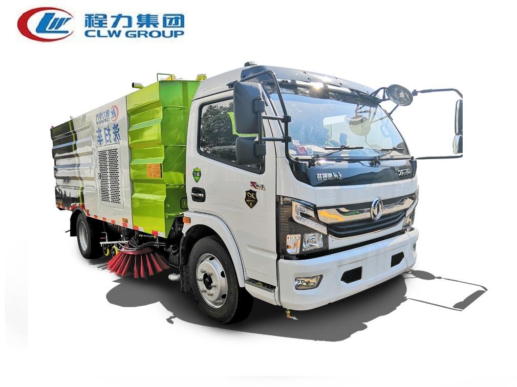 【国六】东风大多利卡D7【4方水 5方尘】洗扫车
