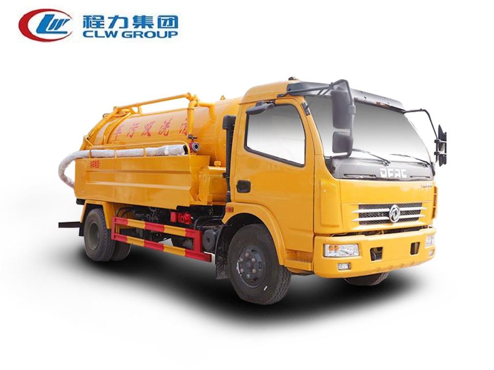 东风大多利卡【清水2.5方  污水6方】清洗吸污车