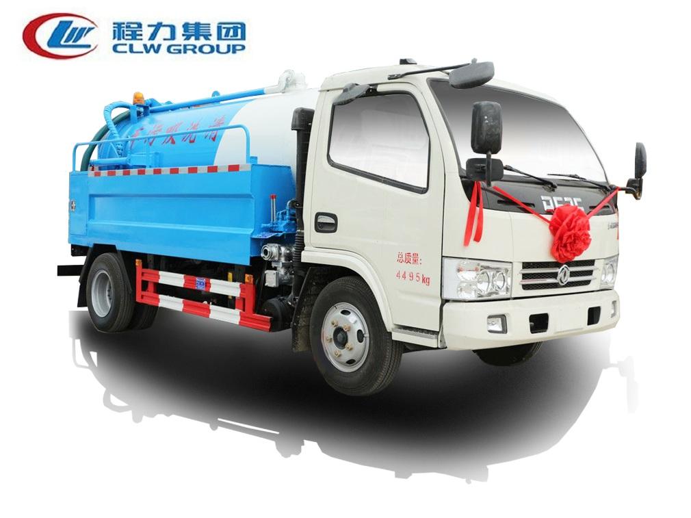 东风小多利卡【清水2方 污水4方】清洗吸污车