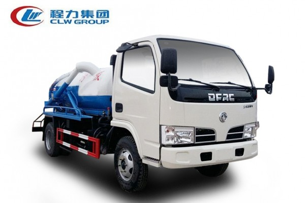 东风小多利卡D6【5立方】吸污车