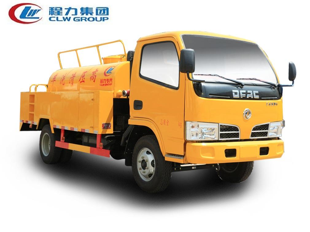 东风小多利卡D6【4.5立方】高压清洗车