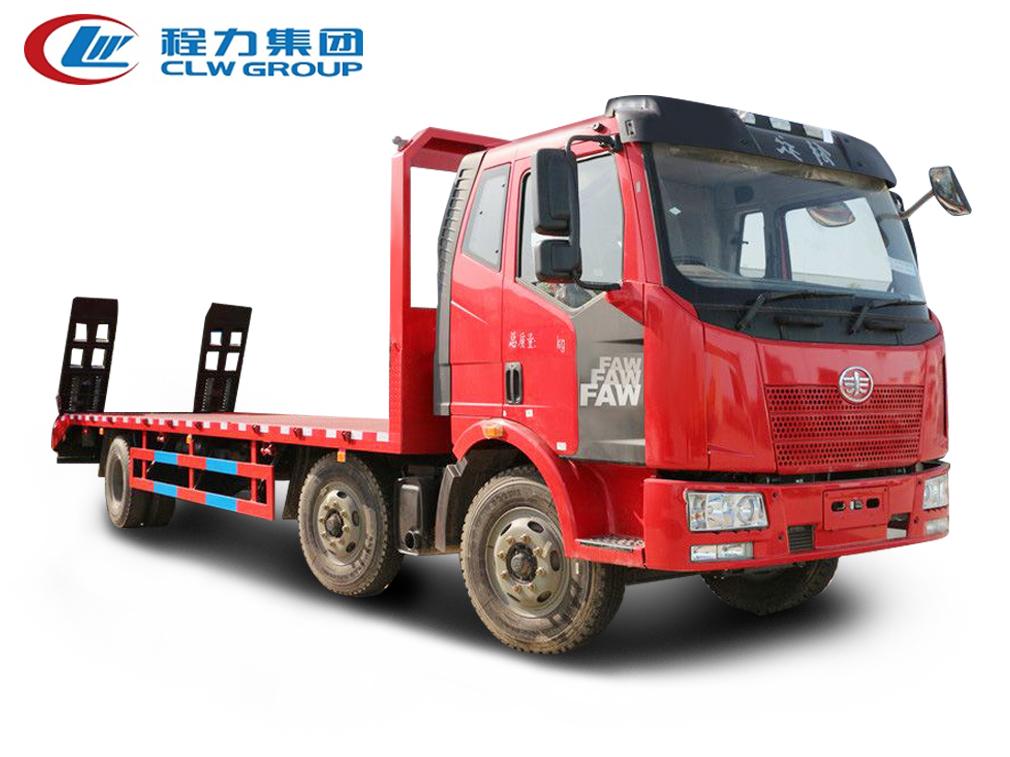 6X2小三轴【15-25吨】【拖240型号挖机及以下】平板运输车