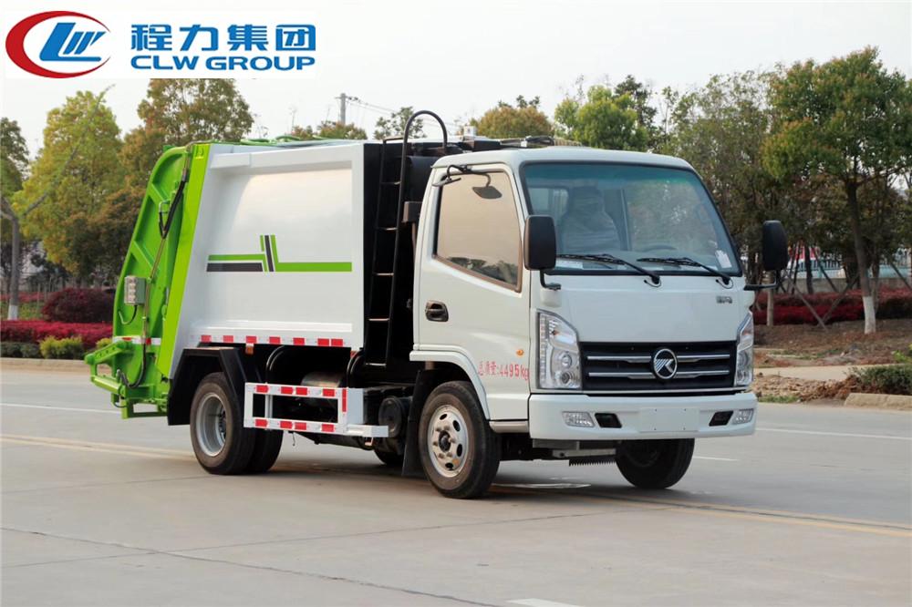 【国六】凯马【4立方】蓝牌压缩式垃圾车