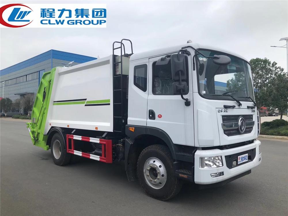【国六】东风多利卡D9【10立方】压缩式垃圾车