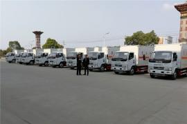 内蒙古李总来厂考察提车,共10台废机油运输车